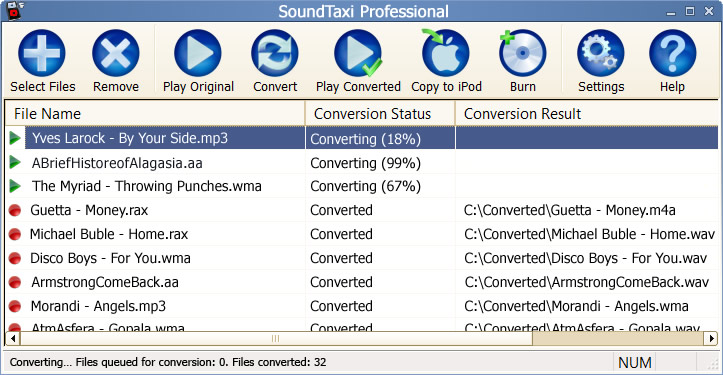 SoundTaxi Professional Screenshot